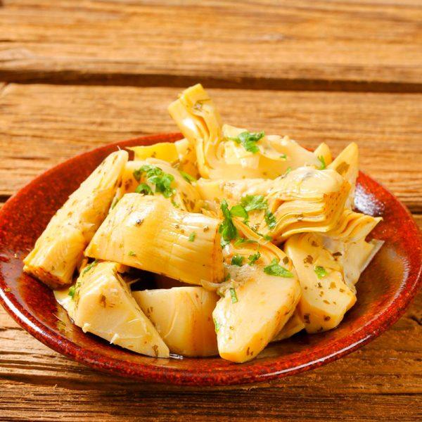 Alcachofas marinadas (Supertomate - Tienda online)