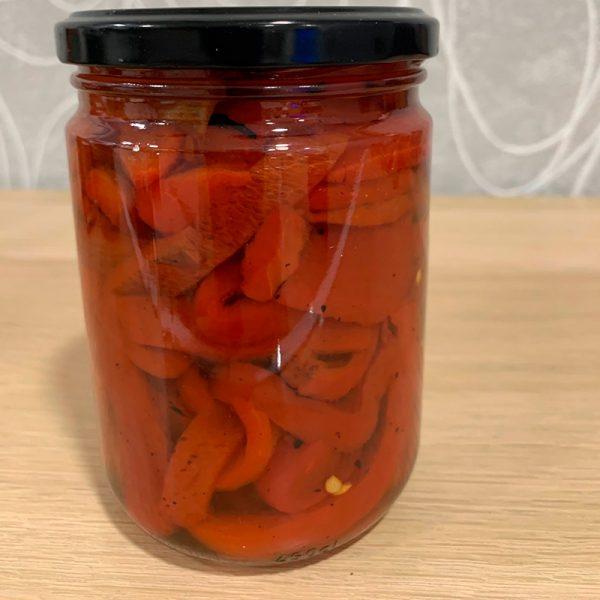 Pimientos asados en leña (Supertomate - Tienda online)